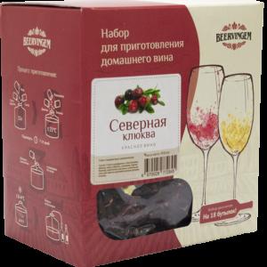 """Набор для приготовления домашнего вина """"Северная клюква"""""""